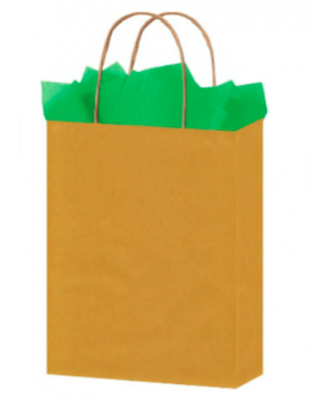 Bolsa de papel kraft 120 grs. shopping Pap Kraft Lisos Shopping
