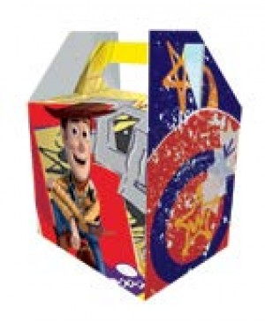 Caja peluchera licenciaChica Buzz And Woody