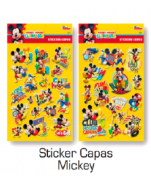 Stickers Capas Mickey