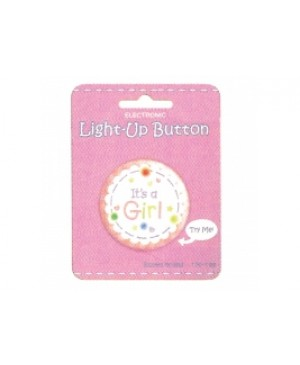 Boton con Luz It's a Girl