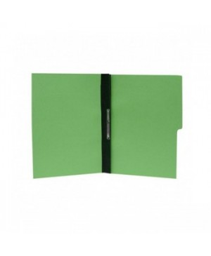 Folder Accopress tamaño carta con percalina en color verde claro con 10 piezas marca Acco