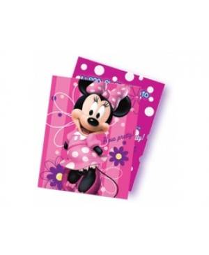 Invitación Minnie Pink