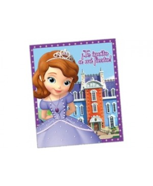 Invitación Sofia The First