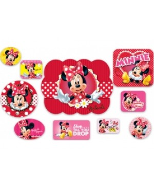 Kit Decorativo Minnie Mouse