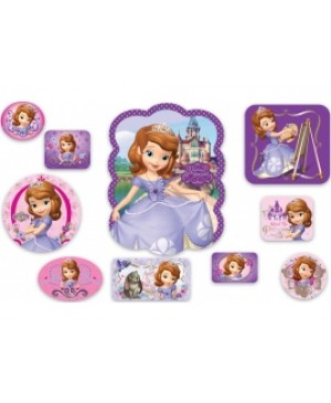 Kit Decorativo Sofia The First