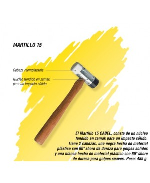 Martillo 15 Cabel