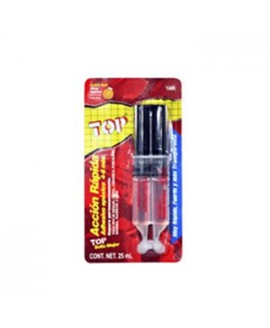 Pegamento epoxico accion rapida 4-6 jer 25 ml Top