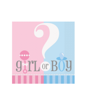 Servilleta Chica Gender Reveal
