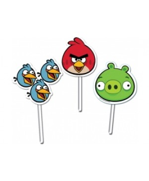 Topper Decorativo Angry Birds
