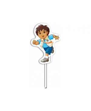 Topper Decorativo Go Diego Go