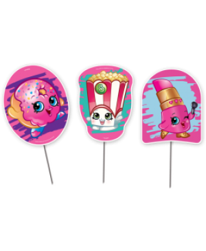 Topper Decorativo Shopkins