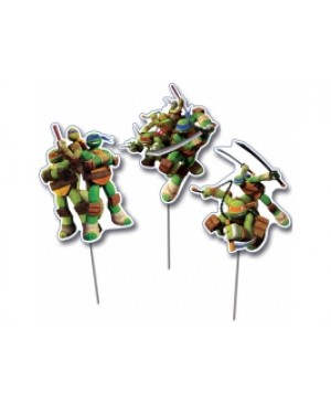 Topper Decorativo Tortugas Ninjas
