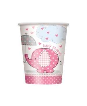 Umbrellaphants Pink Vaso
