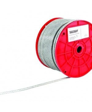 Cable de Acero 3/16 75 Mts TC0988