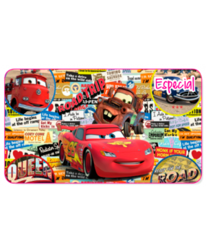 Papel couche en pliego licencia mediano Cars Radiator Decorativo