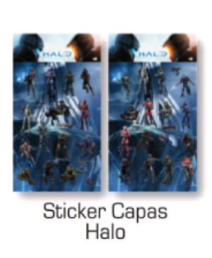Stickers Capas Halo