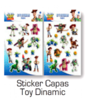 Stickers Capas Toy Dinamic