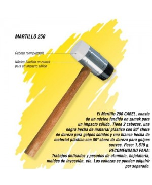 Martillo 250 Cabel