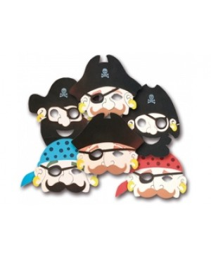 Máscara Foam Piratas