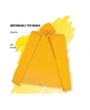 Impermeable C-35 Cabel tipo Poncho