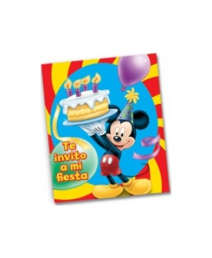 Invitación Mickey Mouse