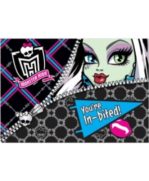 Invitación Monster High