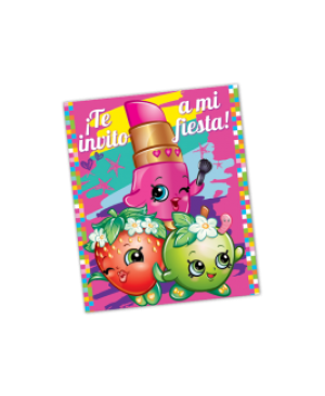Invitación Shopkins