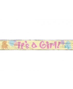 It's a Girl Banner Metálico