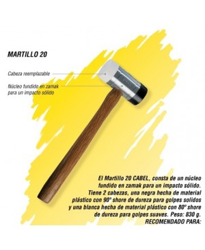 Martillo 20 Cabel