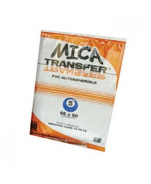 Mica adherible Transfer calibre