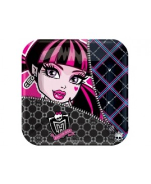 Plato Chico Monster High