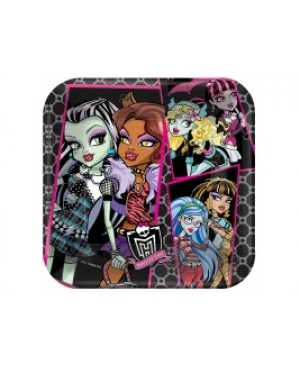 Plato Grande Monster High