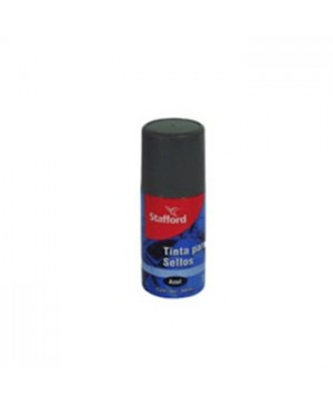 Tinta para sello Stafford azul 60 ml.