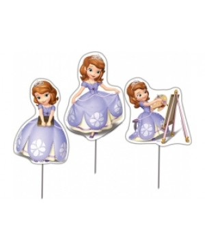 Topper Decorativo Sofia The First