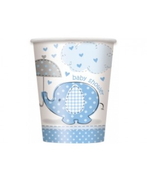 Umbrellaphants Blue Vaso