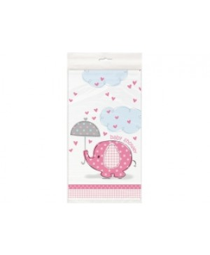 Umbrellaphants Pink Mantel